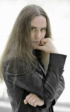 J.Ahola Metal Bands, Rock Bands, A Good Man, Heavy Metal, Finland, Long Hair, Leather Jacket, Goth, Heavy Metal Rock