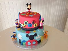 Mickey clubhouse cake !