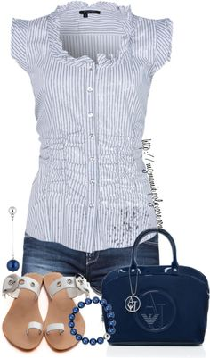 Stripes and Ruffles!!