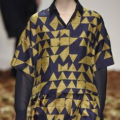 patternprints journal: PRINTS, PATTERNS, TEXTURES AND TEXTILE SURFACES FROM LONDON FASHION WEEK (WOMENSWEAR F/W 2015-16) /  Jasper Conran.