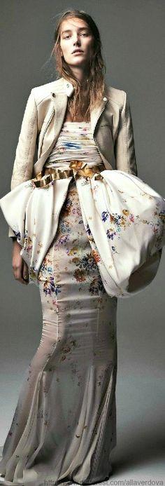 Giambattista Valli dress & Balenciaga.