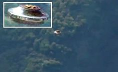 Spectacular sighting of a Flying saucer on the island of Molokai, Hawaii (HD VIDEO)
