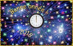 Gif animé bonne année 2018 gratuit