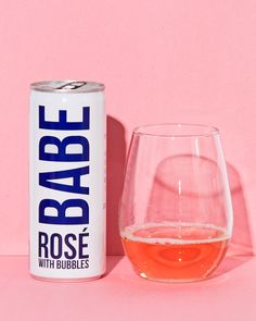 11 Canned Rosés That Look Chic and Don't Taste Like Sh*t Canned rosé all day. Wine Names, Beverage Packaging, Wine Parties, Wine Online, Packaging Design Inspiration, Look Chic, Shot Glass, Wine Glass, Bubbles