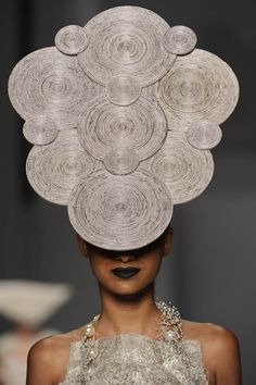 Paper-Hat made by futurearte headdress, paper hats, paper paper, fascinators, Paper Fashion, Fashion Art, High Fashion, Crazy Fashion, Fashion Spring, London Fashion, Style Fashion, Newspaper Hat, Caroline Reboux