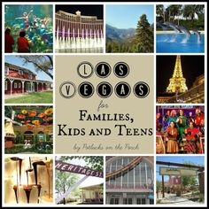 Las Vegas for families, kids, and teens