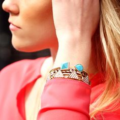 Perfect Spring Stacks. | Grab yours at www.shinymix.com ✨