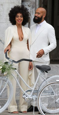 Just Wait Until You See What Solange Wore to Her Wedding