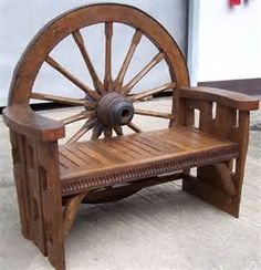 wagon wheels furniture - Yahoo Image Search Results
