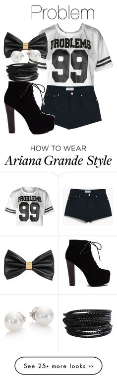 """Problem (song by Ariana Grande) Inspired Outfit"" by infinitebae on Polyvore"