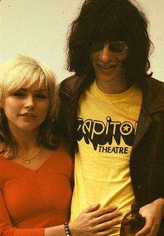 Debbie Harry & Joey Ramone