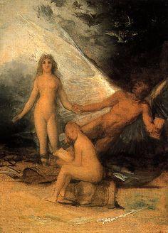 Francisco Goya - La Verdad, el Tiempo y la Historia (boceto), 1797 - 1800