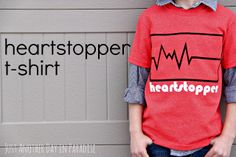 Just Another Day in Paradise: Heartstopper Valentine's Day T-shirt