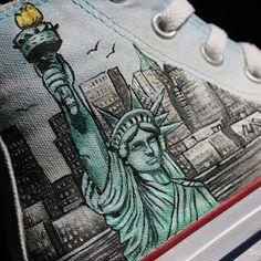 Scarpe Personalizzate new york