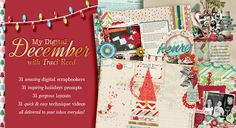 Class Giveaway: Actions & Scripts, Discover December, & My Digital December | Scrapaneers
