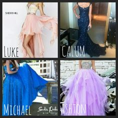 Fancy dress I would wear them all but cal's bc i dont like medmaid style on me