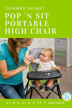 With Its Lightweight Design And Compact Fold, The Summer Infant Pop U0027n Situ2026  Big BabyBooster SeatsBaby ...