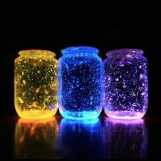 How To Make Stunning Glow Jars For Your Next Dinner Party - Unique DIY Ideas
