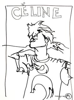 belle BRUT sketchbook: #CELINE #fashion #style #illustration #blindcontour © belle BRUT 2014   http://bellebrut.tumblr.com/post/93748542710/belle-brut-sketchbook-celine-fashion-style