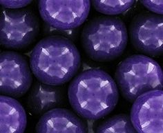 Purple 1 Inch Gumballs 1LB Bag - Gum 1LB