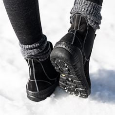 0562db081f11 Dash through the snow in style with Embark cold weather boots. These  spectacular shoes feature
