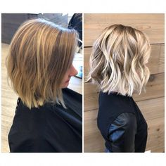 Golden Blonde Balayage for Straight Hair - Honey Blonde Hair Inspiration - The Trending Hairstyle Great Hair, Balayage Hair, Balayage On Short Hair, Blonde Highlights Short Hair, Bayalage, Haircolor, Hair Looks, Hair Lengths, Hair Trends