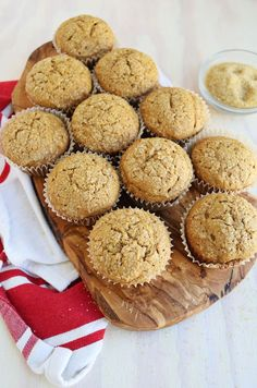 Sour Cream Pumpkin Muffins