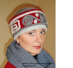 "$3 on Ravelry: Cap ""Russian winter"" pattern by Olga Shepetilnikova"