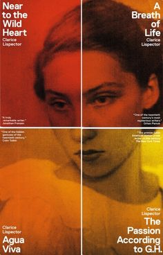 """grimmertown: """" Clarice Lispector's book The Hour of the Star (in a translation recently published by New Directions) was one of my favorite books of the year. Best Book Covers, Book Cover Art, Book Cover Design, Book Design, Album Covers, Design Editorial, Editorial Layout, Web Design, Layout Design"""