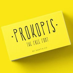 Free Font Prokopis is a multilingual handmade font with Greek, Latin character set and diacritics.