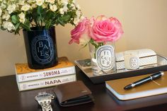 Re-purpose Diptyque candle holders
