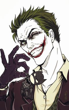 Batman:Arkham Origins  artwork like anime style