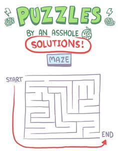 Well no the maze can't be solved soooo Owlturd Comix, Funny Jokes, Hilarious, I Can Relate, Funny Comics, Make Me Happy, Self Esteem, Disney Movies, Summer Equinox