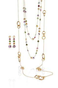Jaipur collection by Marco Bicego starting at $495. Colorful, Versatile, Beautiful Available at Miami Lakes Jewelers.