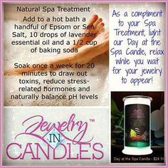 Want to feel relaxed try our Day At The Spa Candle or Tart and soak in your very own spa at home.