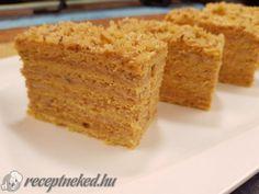 Érdekel a receptje? Kattints a képre! Küldte: Receptneked Hungarian Recipes, Something Sweet, Cake Cookies, Cornbread, Cooking Recipes, Favorite Recipes, Sweets, Ethnic Recipes, Food
