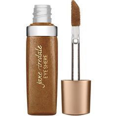 Jane Iredale Eye Shere Liquid Eye Shadow, Brown Silk 0.13 oz (4 ml) (415 CZK) ❤ liked on Polyvore