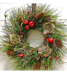 Old World Christmas Wreath