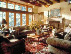 Cottage Living Room- TEA2 Architects
