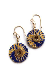 Candice Heshima Short Medallion Earrings | Jimani Collections
