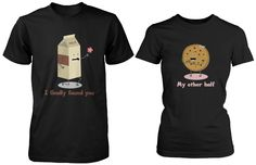 http://www.ebay.com/itm/Cute-Matching-Couple-Shirts-Milk-and-Chocolate-Chip-Cookie-/281417065536?var=
