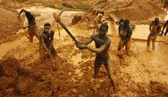 african gold miners - Google Search