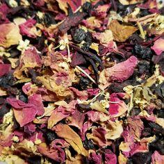 Immune Support Floral Tea by CamilleLaLune on Etsy-Typhoid Mary #LooseLeafTea #TeaLovers #OrganicTea #BoutiqueTea #UniqueTea #FloralTea #RoseTea #RedRosePetals #Rose #ElderFlowers #VampireTea #GothicTea #HerbalTea #ValentinesTea #Tisane #Infusion #CamilleLaLune.etsy.com #shopetsy #EtsySuccess #DifferenceMakesUs #Glamping #Elderberry #Rosehips #FeverTea #HerbalTea #TyhphoidMary #ImmuneSupportTea #Herbalism