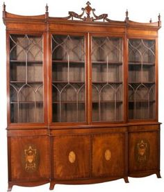library chinoiserie bookcase china cabi  luxury