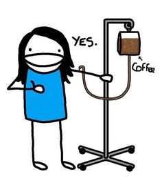 Buenos dias, es hora de un buen café para iniciar el día bien recargados.