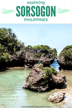 Visiting the attractions in Bacon and Matnog, Sorsogon (Philippines) - including Paguriran Lagoon, Juag Lagoon Sanctuary, Subic Beach and Tikling Island.
