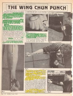 The science of a Wing Chun punch.