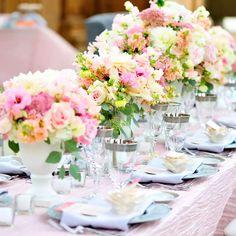 Pastel Spring Wedding Decor