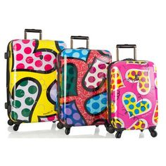 Luggage Sets Collections | Britto 3 Piece Luggage Set -- Find out more about the great product at the image link. Note:It is Affiliate Link to Amazon. #jj