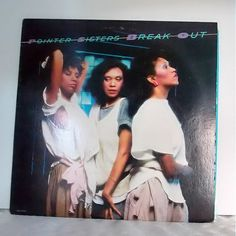 Vintage Vinyl Record, Pointer Sisters, Break Out, Music Memorabilia 1983, Planet Records BXL1-4705 Vintage Funk, Hip-Hop, R&B Music by FionaJune on Etsy